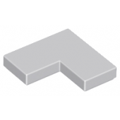 Flat Tile Corner 1X2X2