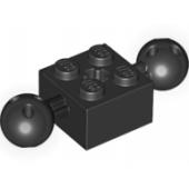 Brick 2X2 W. 2 Balls Ø 10,2