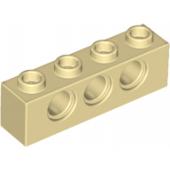 Technic Brick 1X4, Ø4,9