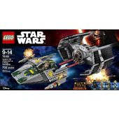 Το TIE Advanced Σκάφος του Vader εναντίον του A-wing Starfighter
