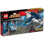 The Avengers Quinjet Chase