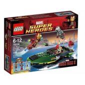 Iron Man: Extremis Sea Port Battle