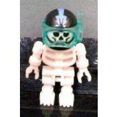 Skeleton with Standard Skull, Black Aquaraiders II Helmet