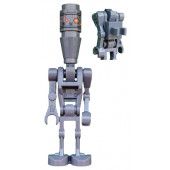 IG-88 without Round 1 x 1 Plate