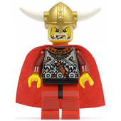 Viking Red Chess King