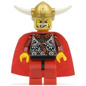 Viking Red Chess King