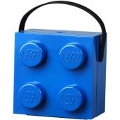 Lunch Box With Handle Bright Blue